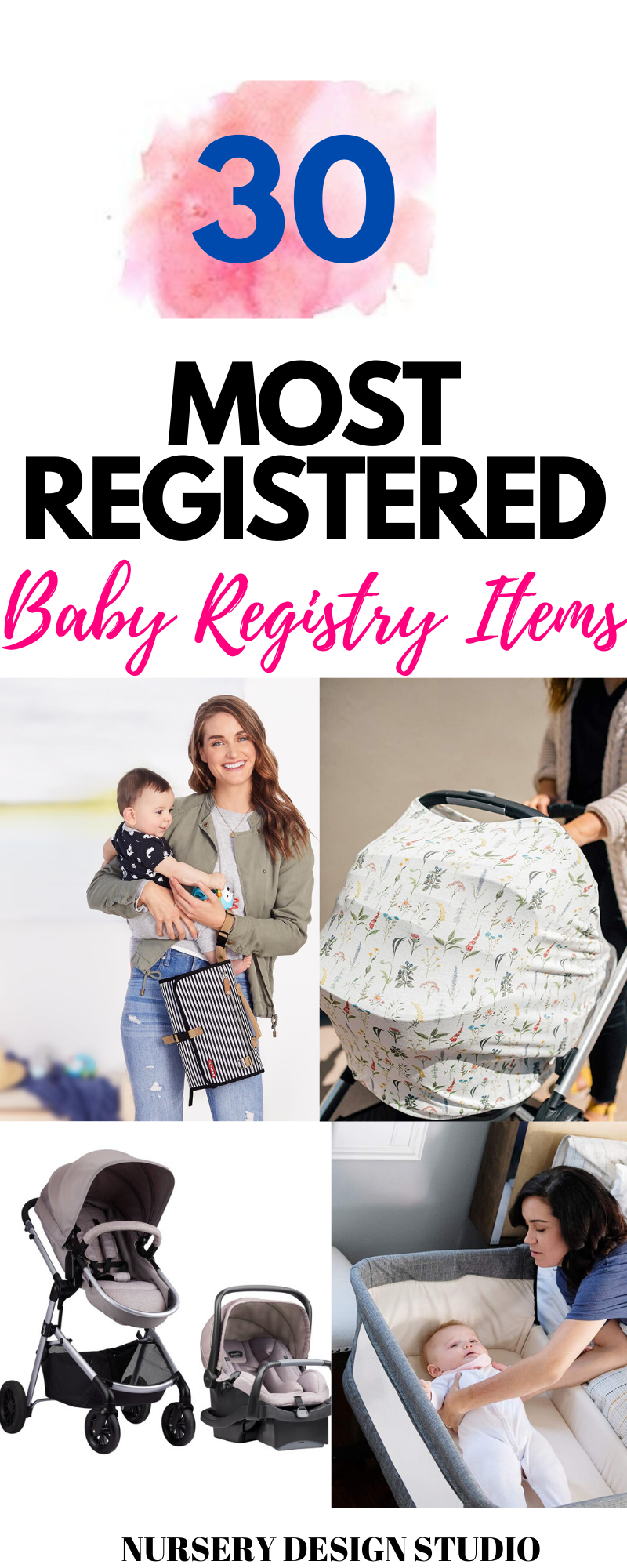 30 most registered baby registry items