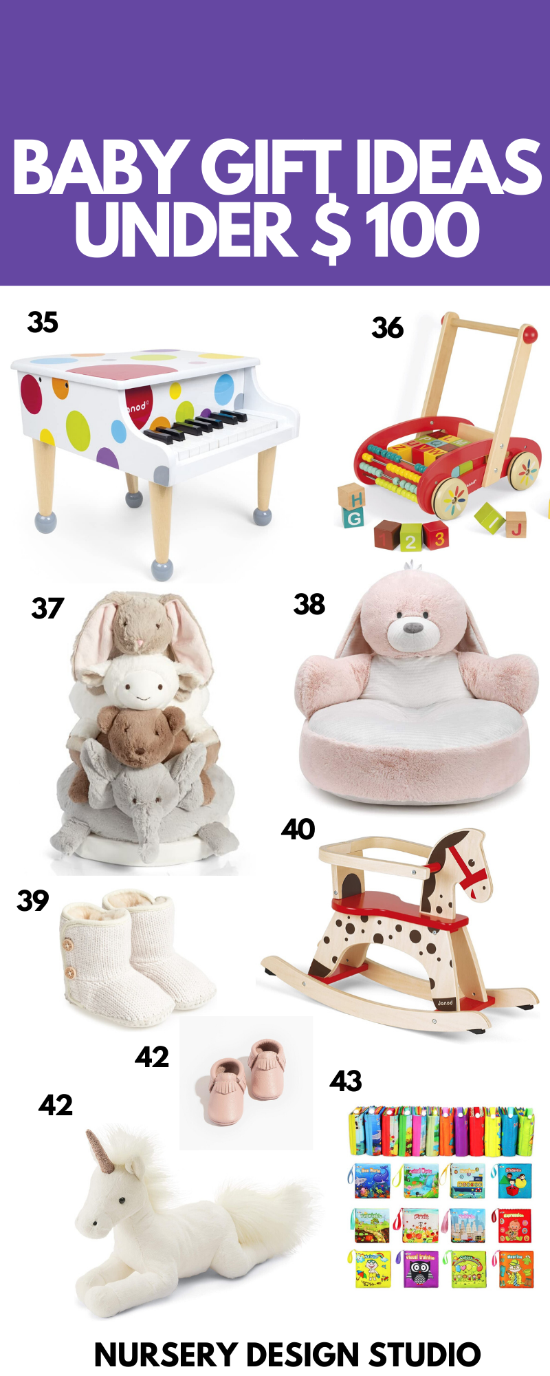 BABY GIFT IDEAS UNDER 100