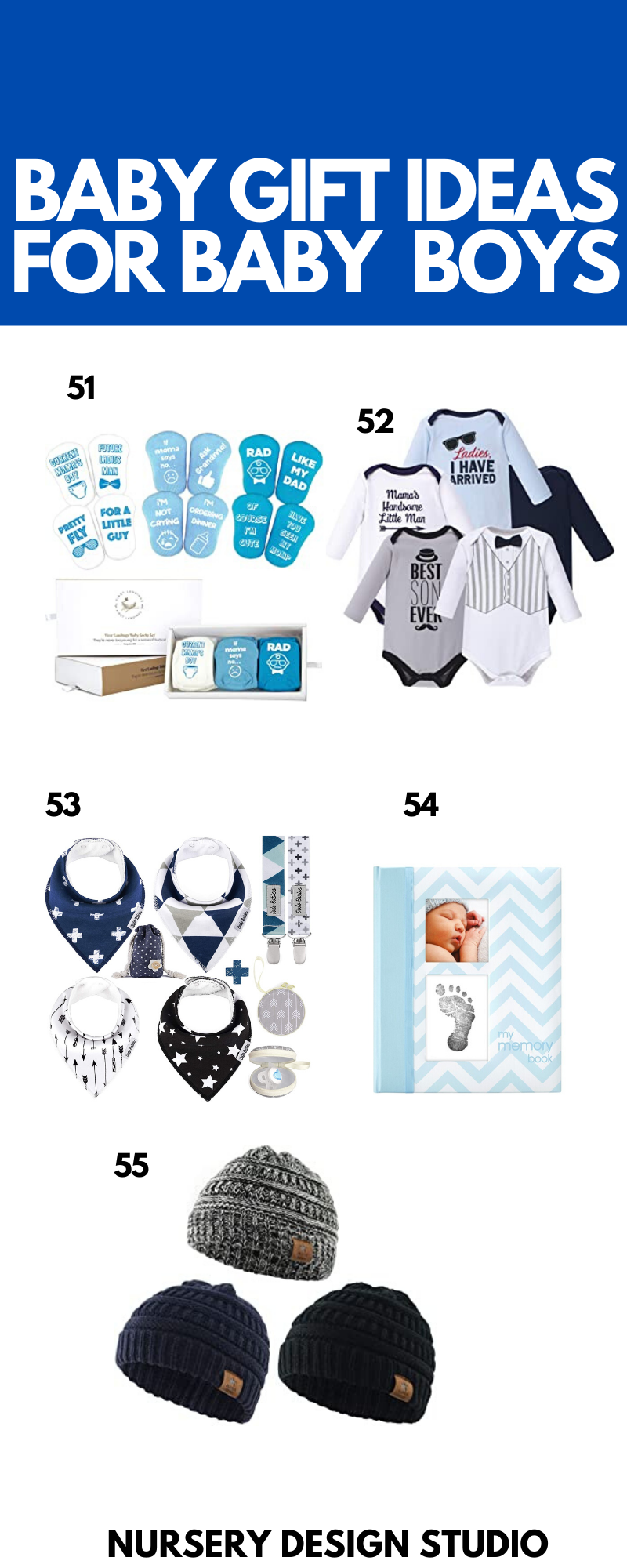 BABY GIFT IDEAS FOR BABY BOYS