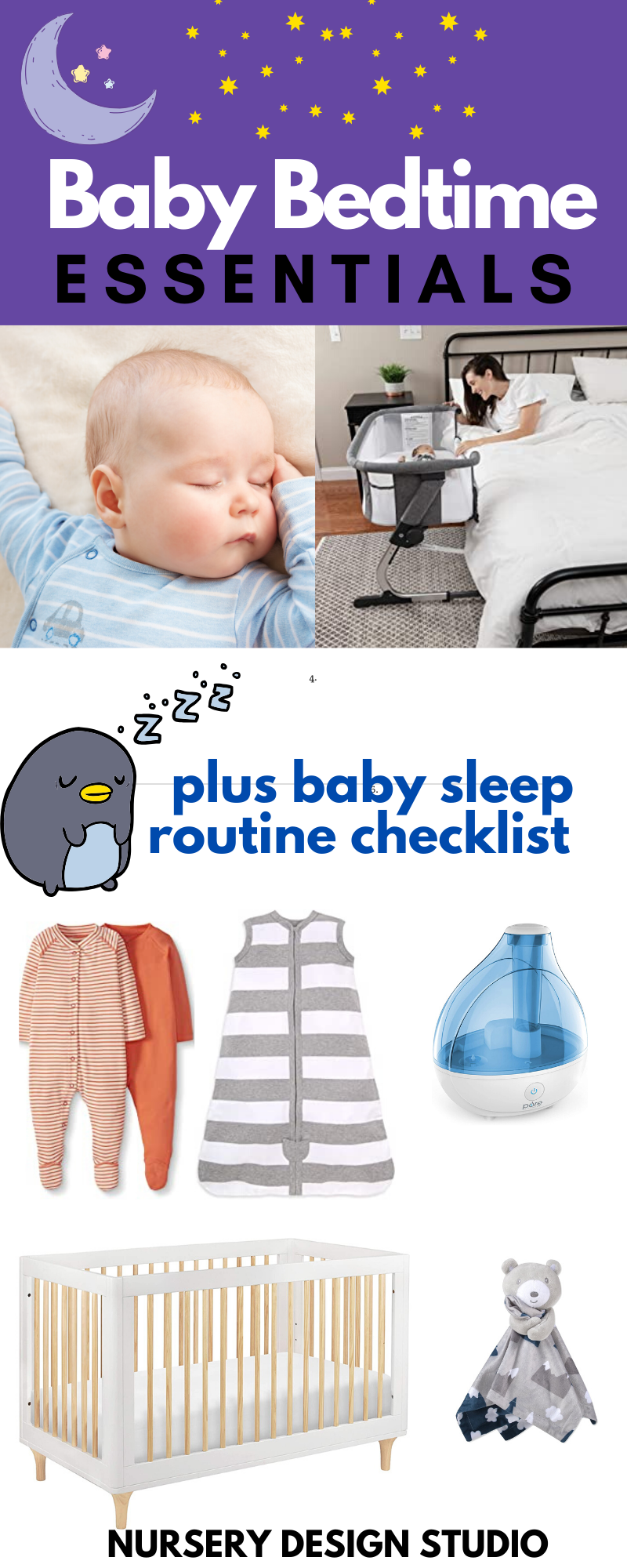 BABY BEDTIME ESSENTIALS