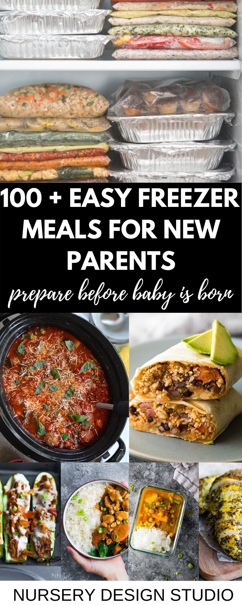 easy freezer meals before baby is born