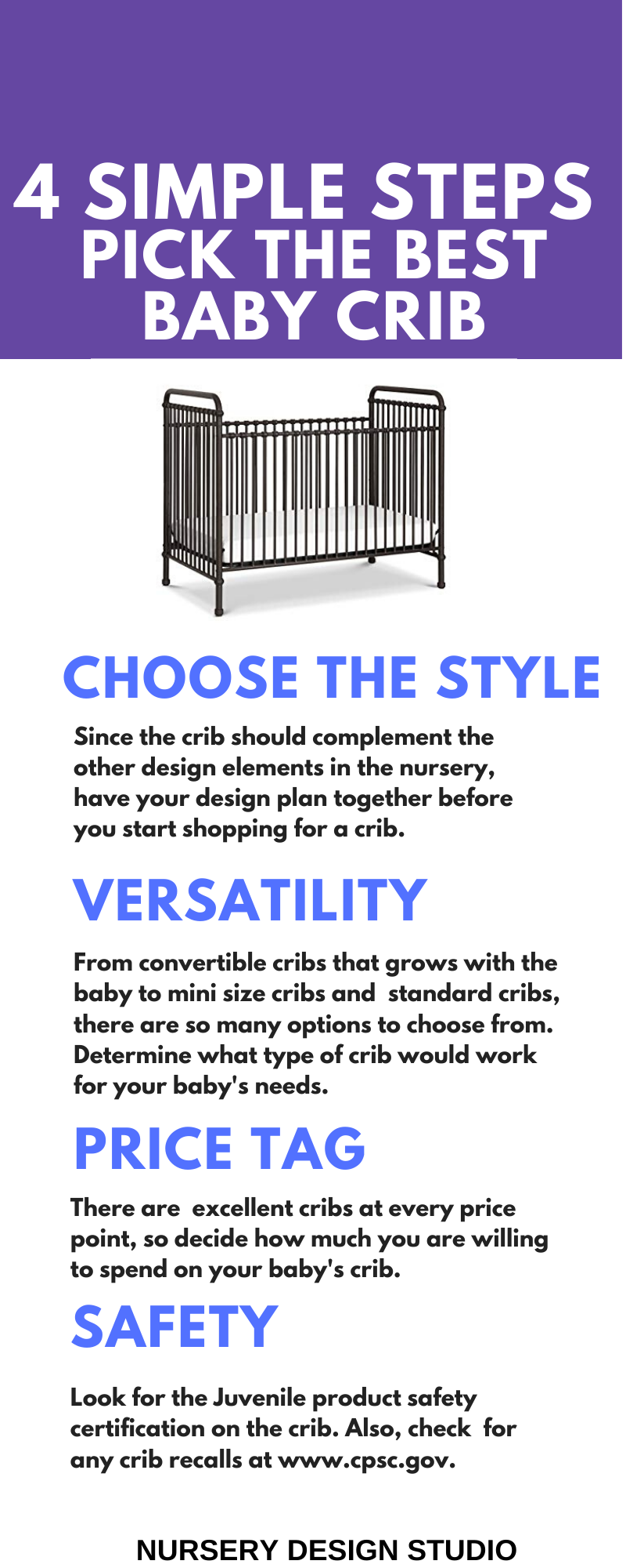 HOW TO CHOOSE THE BEST CRIB