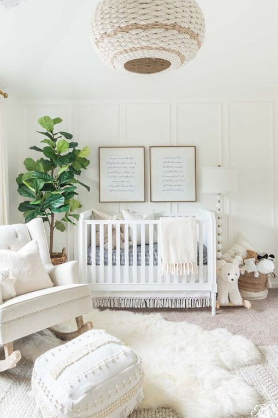 Beautiful Neutral Baby Nursery Designs