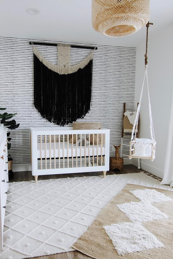 black nursery designs