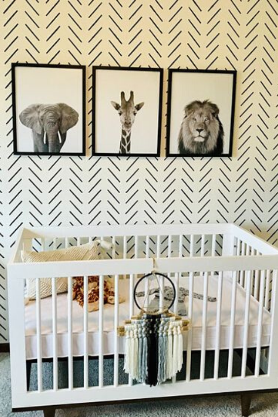 BLACK NURSERY IDEAS