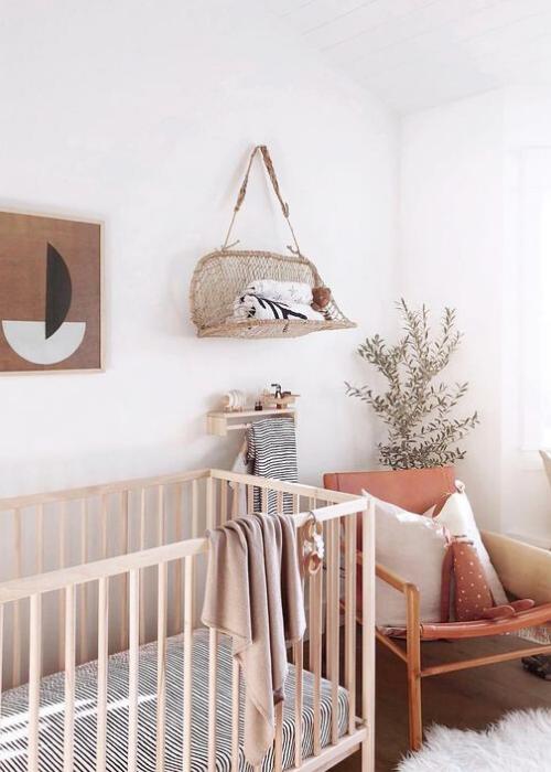 earthy nursery ideas
