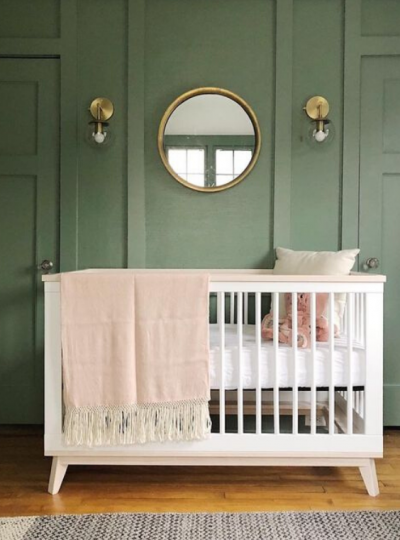 Today we are sharing 21 Green Nursery Ideas with huge style!