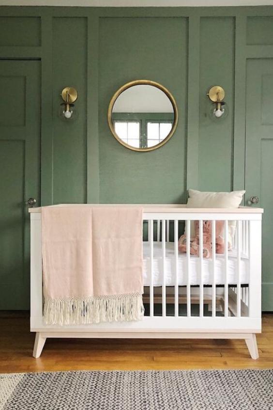 19 Green Nursery Ideas With Huge Style