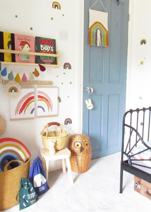 21 PRETTY RAINBOW NURSERY IDEAS | Nursery Design Studio