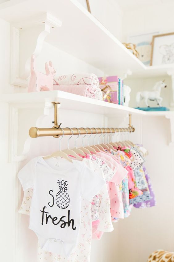 clever and stylish nursery organization