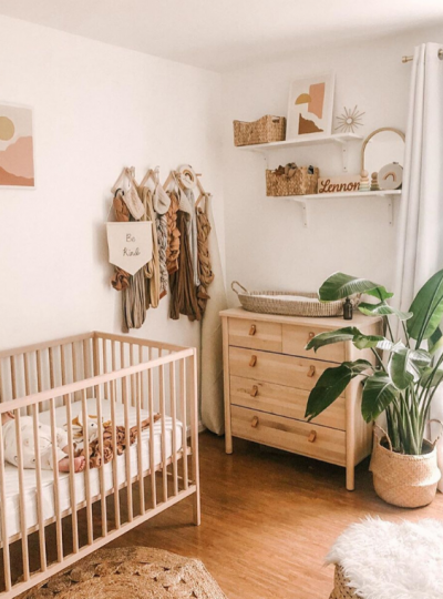 earthy nursery ideas