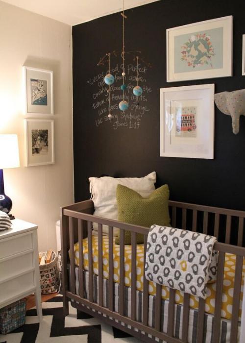 nursery designs with chalkboard