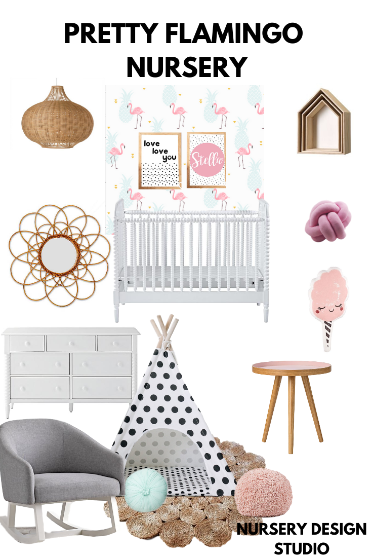 PRETTY FLAMINGO NURSERY