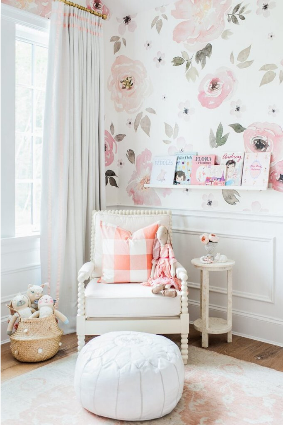 nursery reading nook ideas