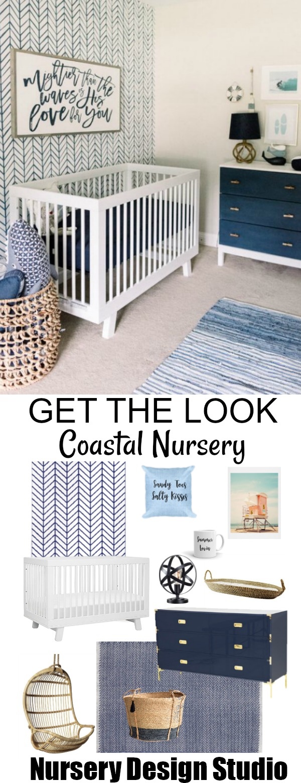 chic coastal nursery