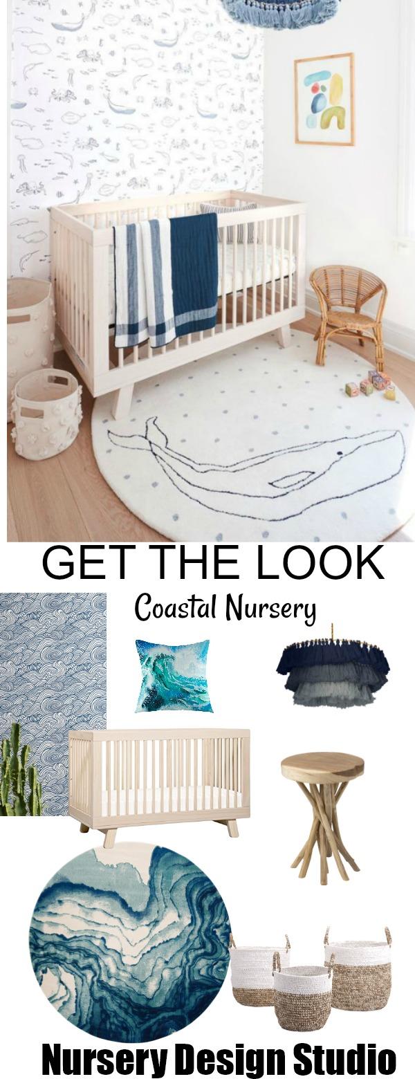 modern coastal nursery