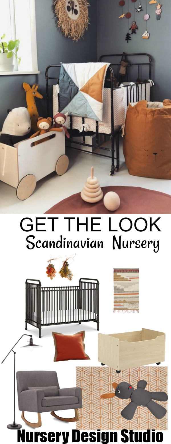 Scandinavian boys nursery