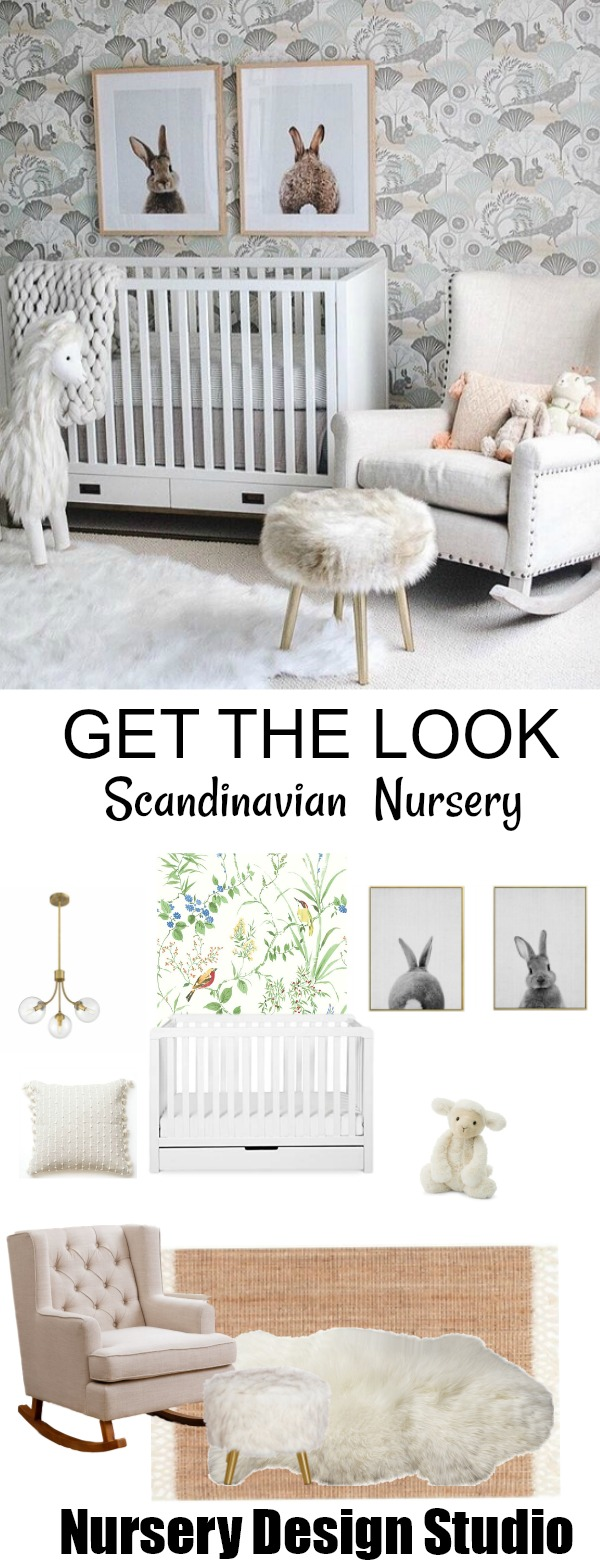 Scandinavian nursery design