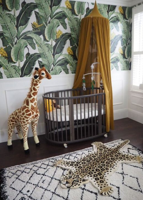 nature inspired wallpaper ideas for kids rooms