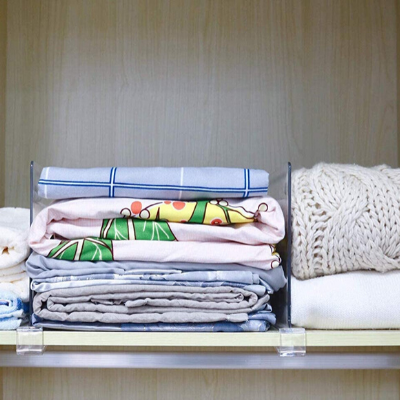 organize baby clothes in small space