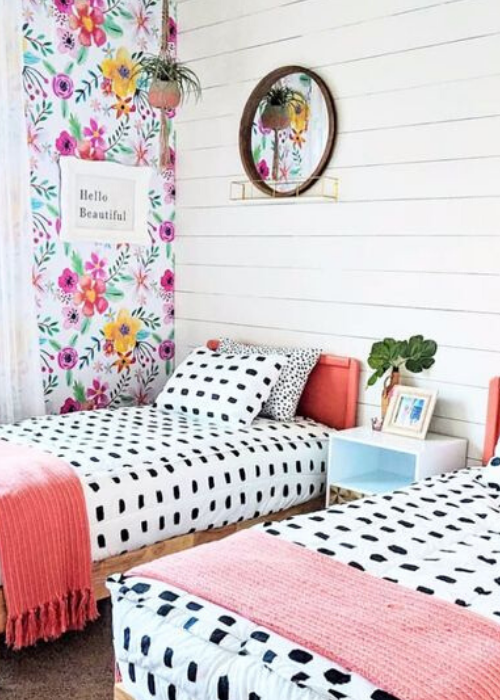 shared girls nursery