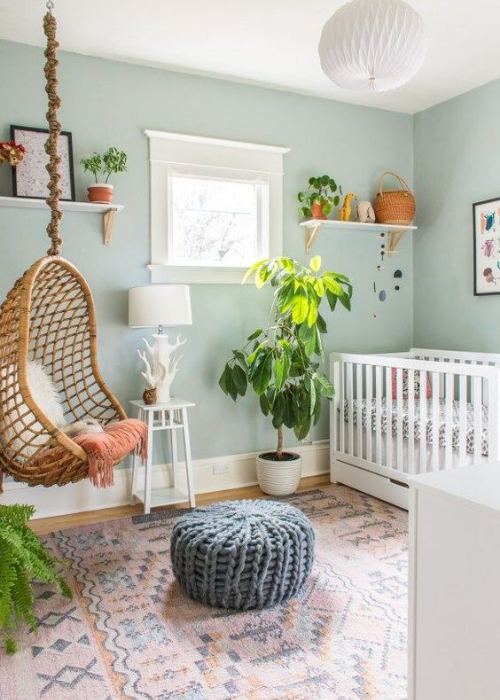 ways to bring nature into the nursery