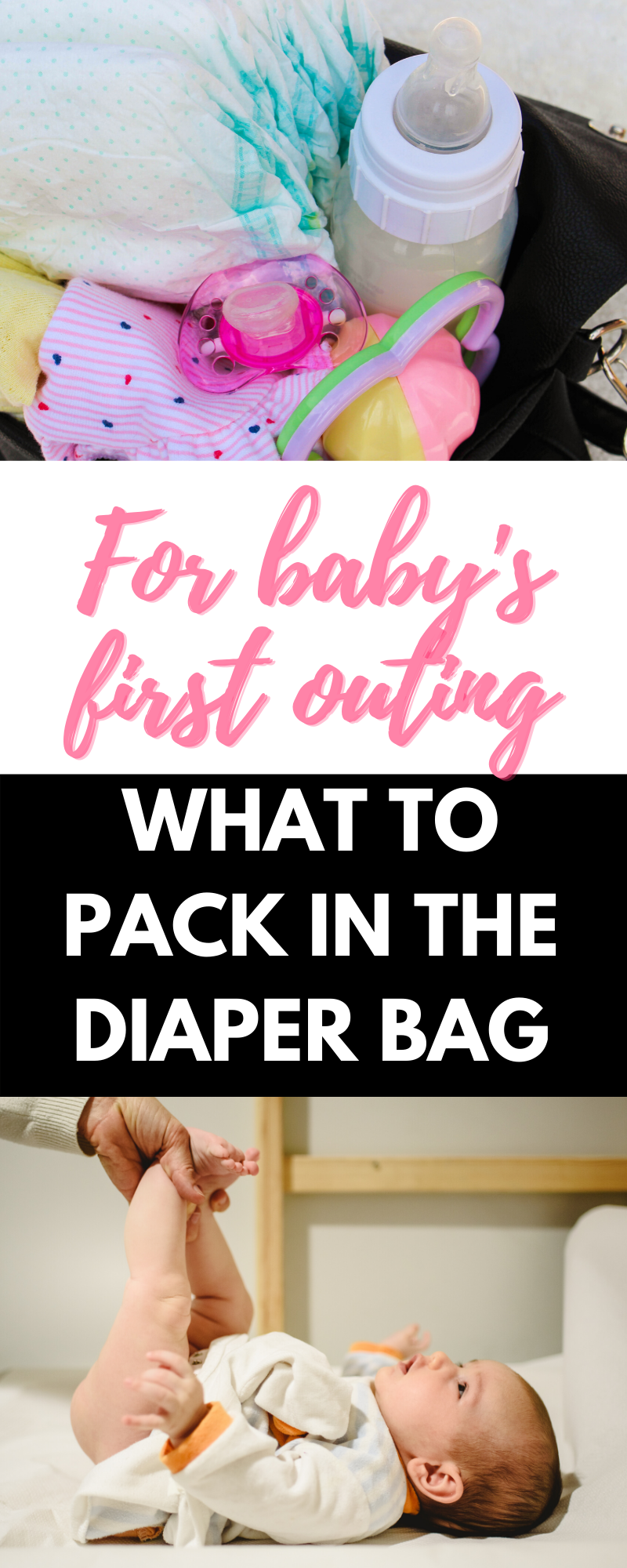 what to pack in the diaper bag