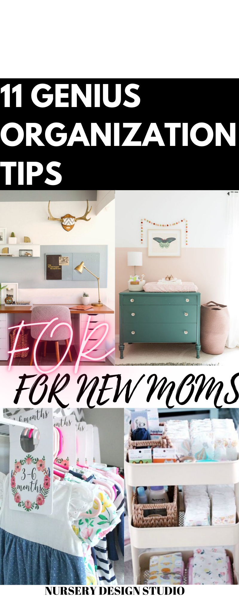 ORGANIZATION TIPS FOR NEW MOMS