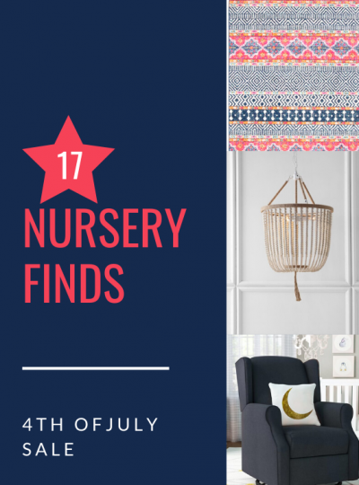 NURSERY FINDS FROM WAYFAIR