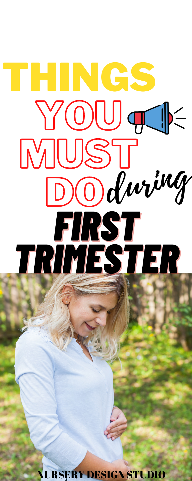 first trimester to do list