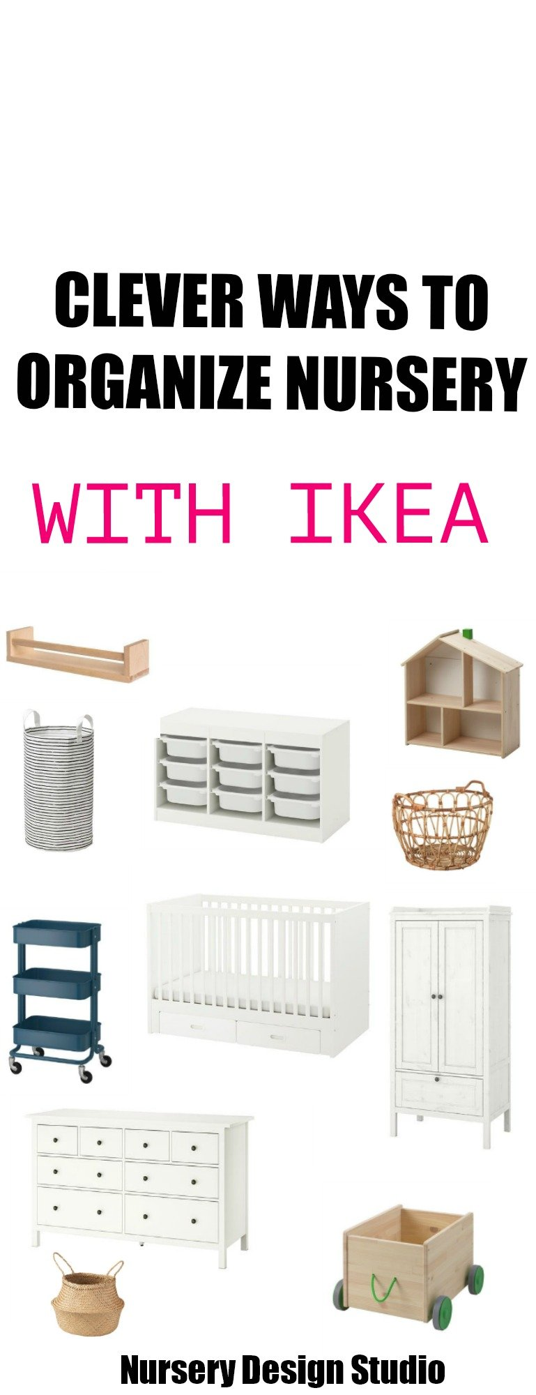 BEST IKEA NURSERY STORAGE IDEAS