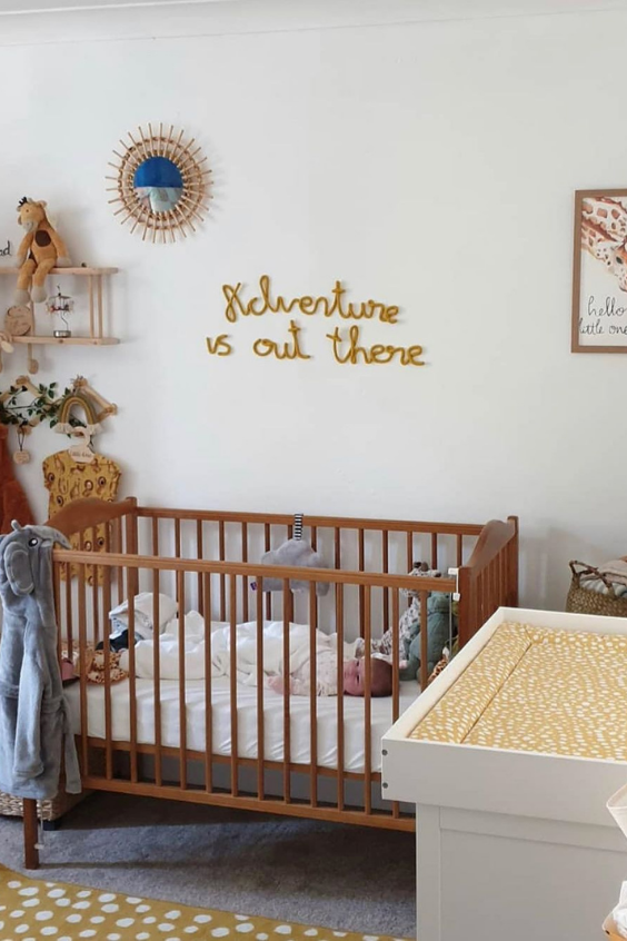boho nursery design