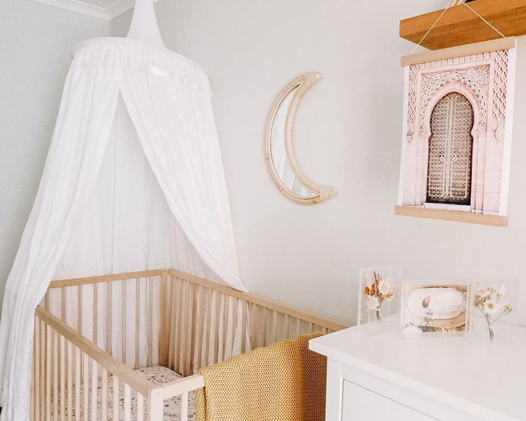 how to decorate a baby nursery