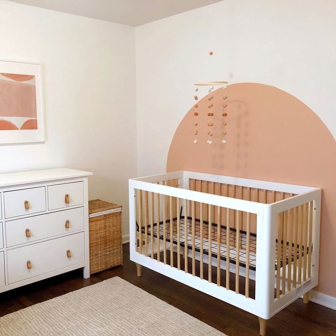 make nursery look bigger