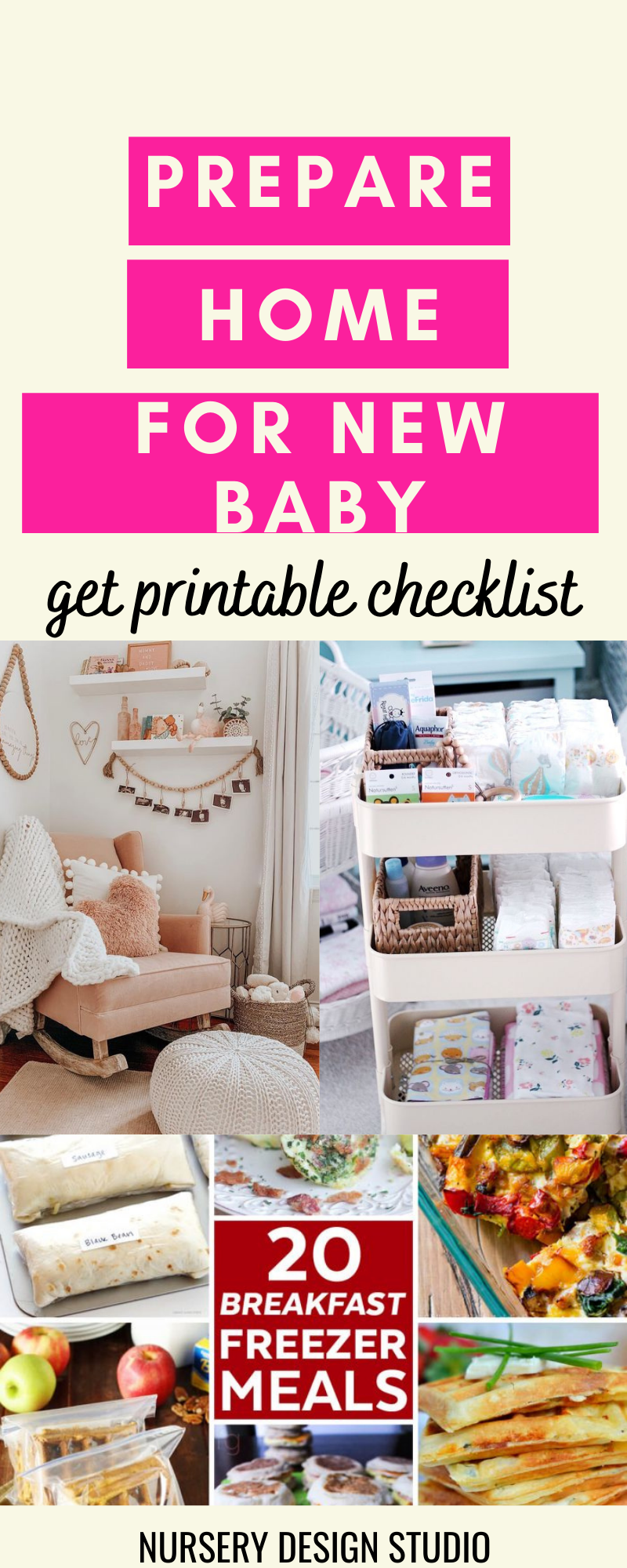 how to organize your home for new baby