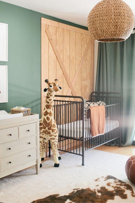 nursery wall ideas