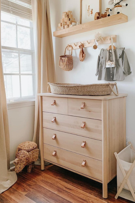 changing table ideas for the nursery