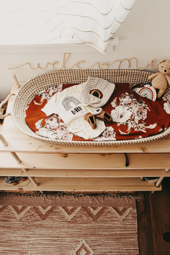 changing table ideas for the nbaby nursery