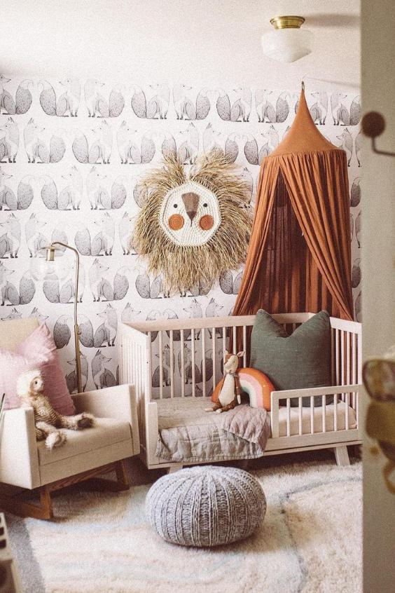 animal theme nursery
