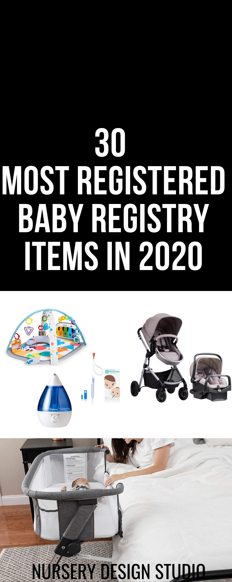 30 most registered items in 2020