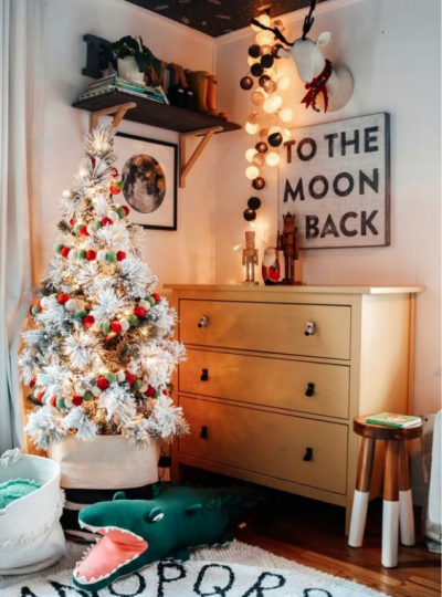 CHRISTMAS DECORARATING IDEAS FOR KIDS ROOMS
