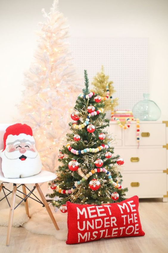 christmas decorating ideas for kids rooms