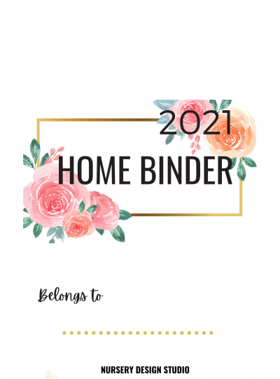 2021 Homebinder and Pregnancy Journal
