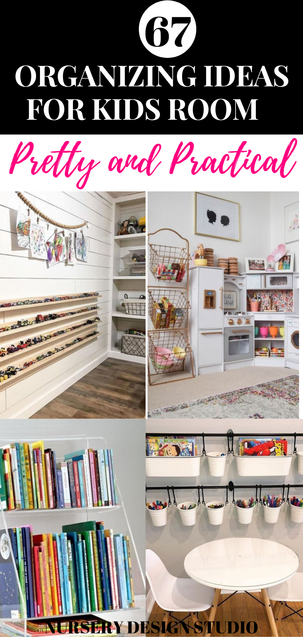 67 ORGANIZING IDEAS FOR KIDS ROOM