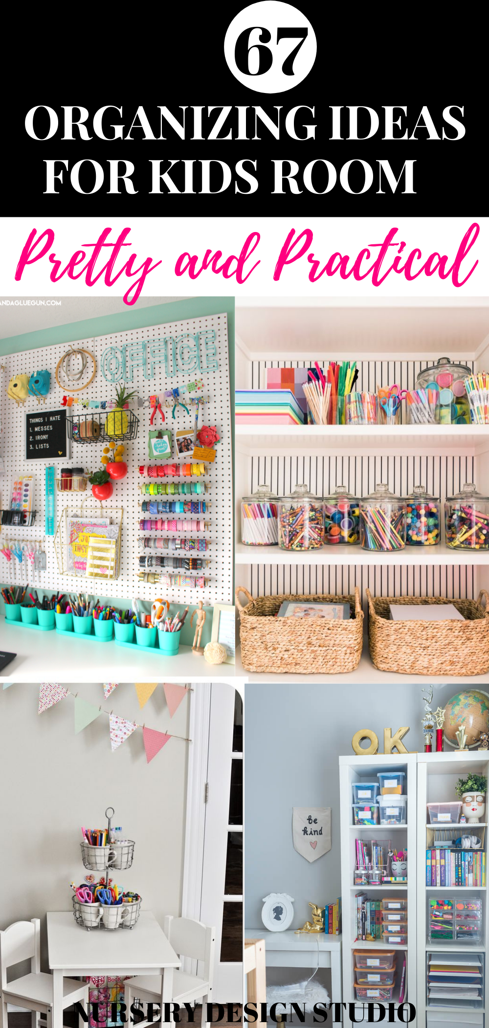 67 ORGANIZING IDEAS FOR KIDS ROOM (2)