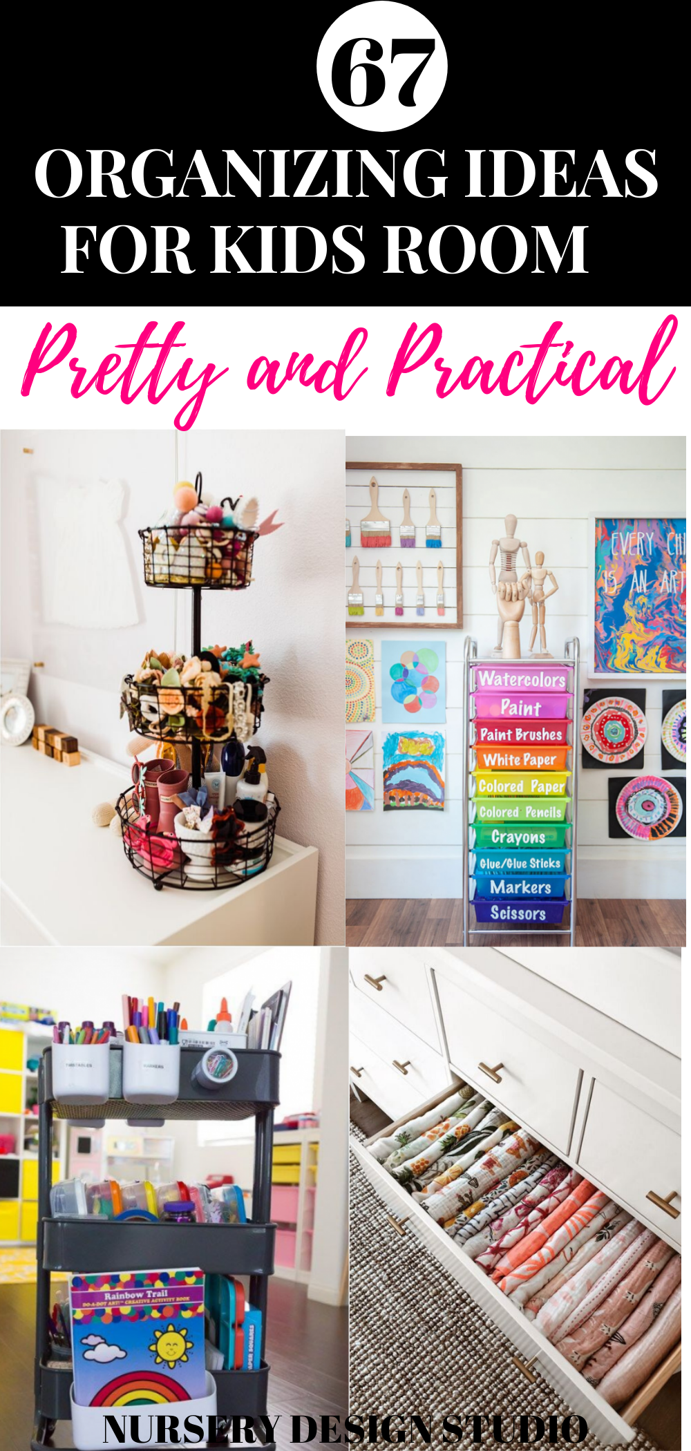 67 ORGANIZING IDEAS FOR KIDS ROOMS