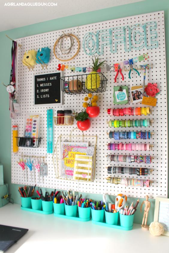 kids art supplies storage ideas