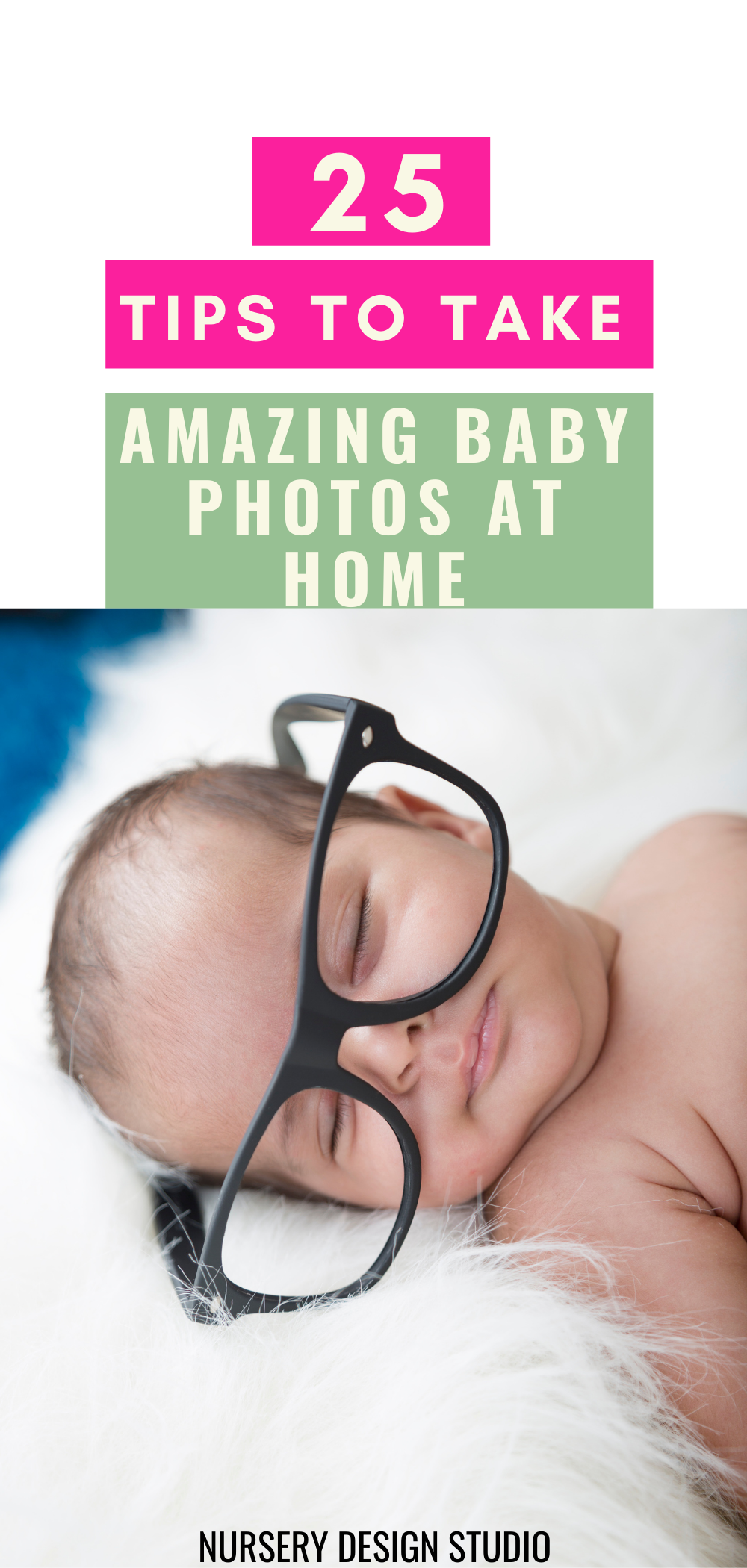 25 ttips to take baby photos at home