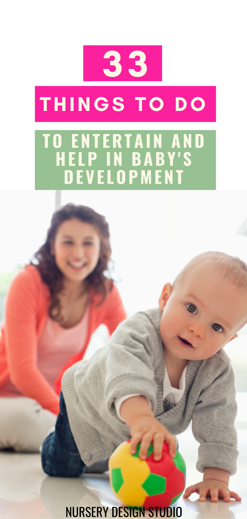33 things to do with baby to entertain