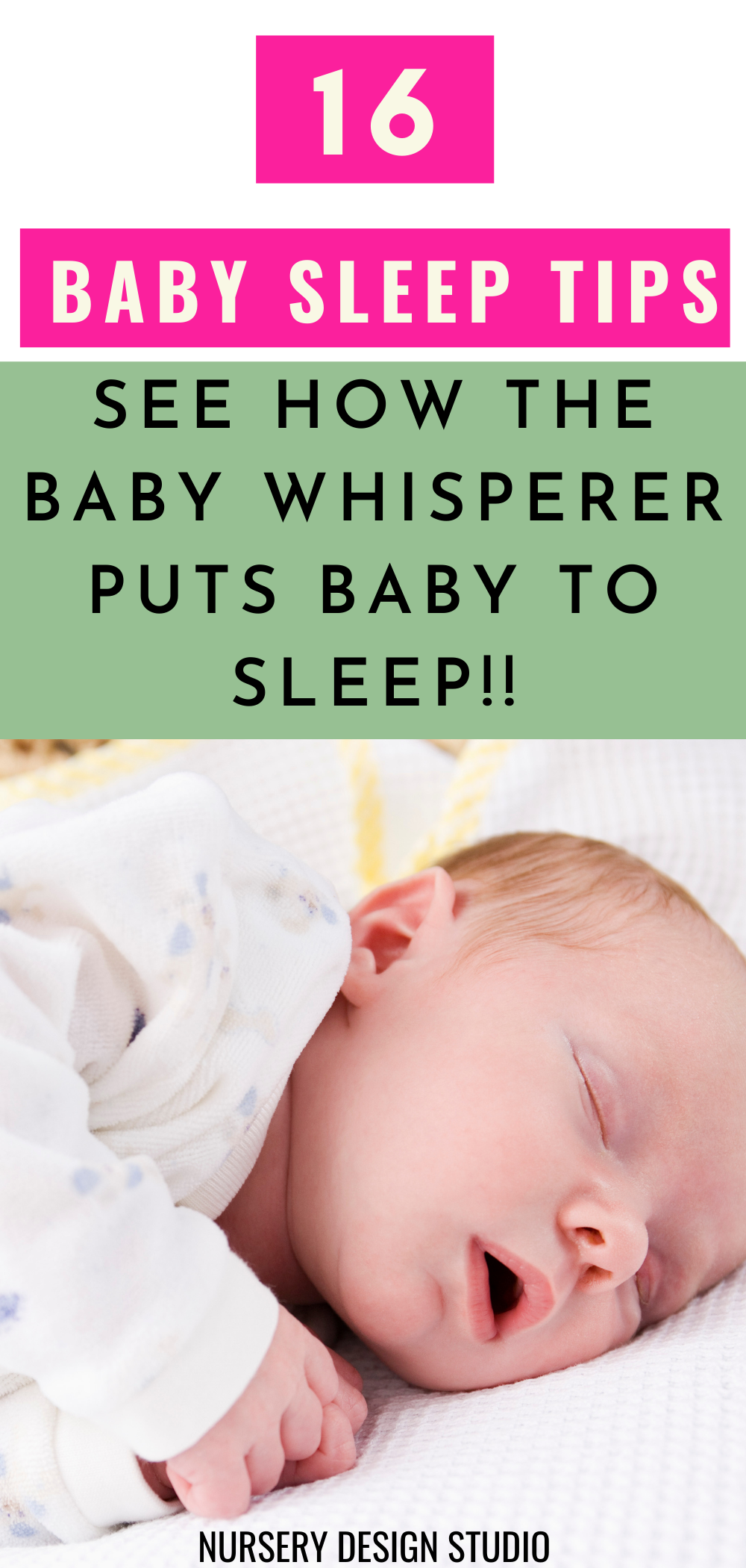 baby sleep tips